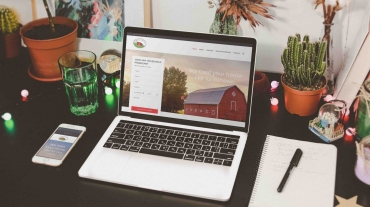 Farmhouse Property Management Website
